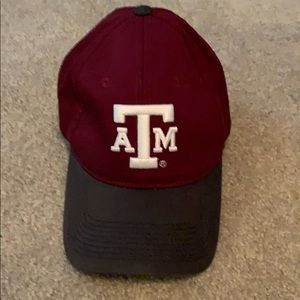 Aggie cap- maroon, navy and white
